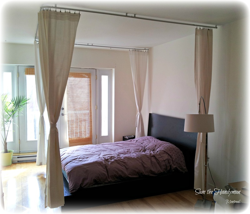 """Curtain Rods & Blinds Installation """""""