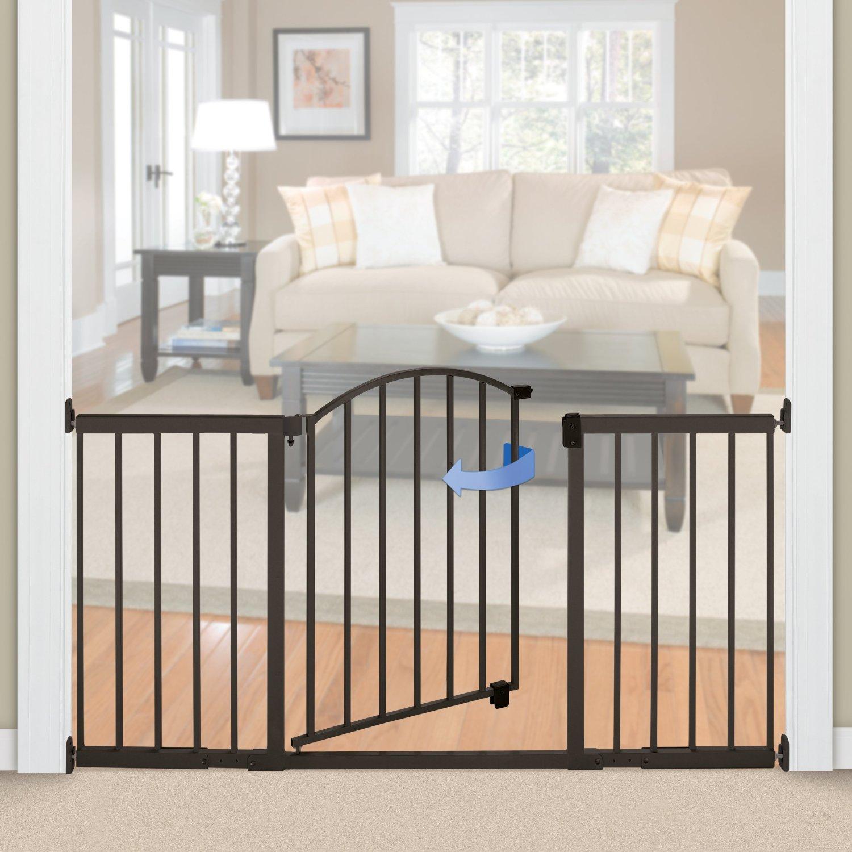 Child proof safety gate installation