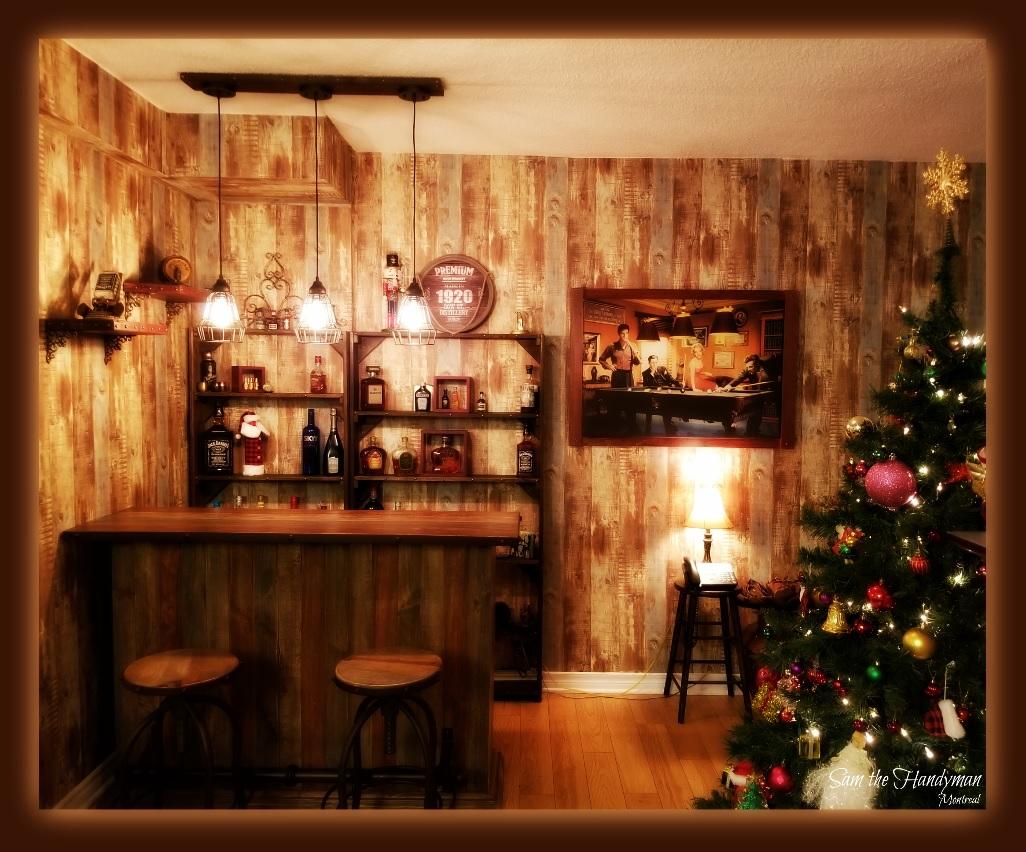 Western Home Bar installation